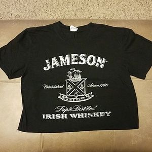 Black Jameson whiskey tshirt
